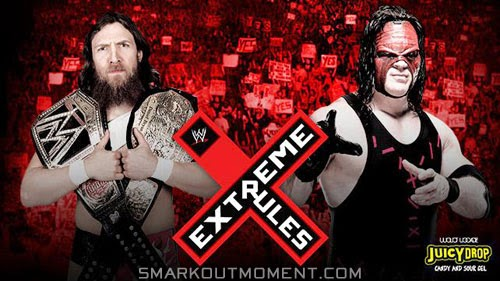 WWE Extreme Rules 2014 Pay-Per-View Daniel Bryan vs Kane Extreme Rules 2014 Special Event