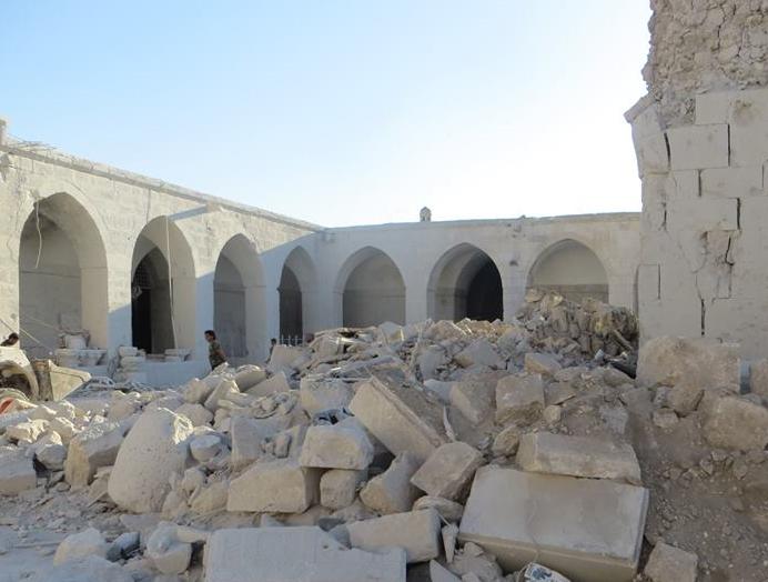 Portrait d'Ali OTHMAN, Archéologue syrien en exil
