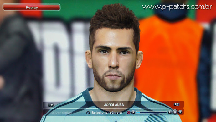 Face do Jordi Alba no PES 2014