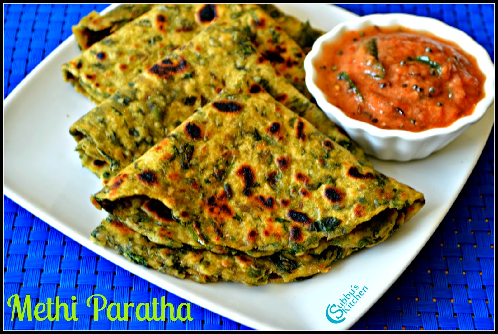 Methi Paratha Recipe