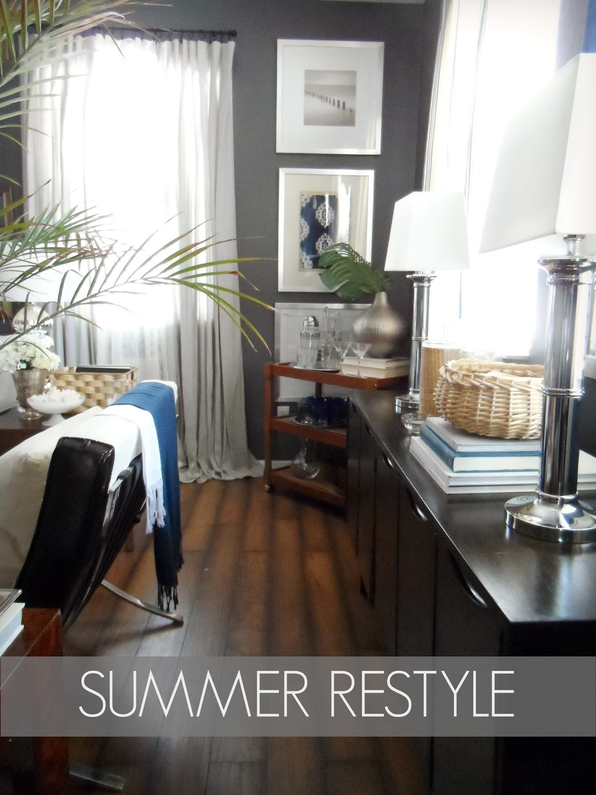 focal point styling summer tablescape tips bar cart styling. Black Bedroom Furniture Sets. Home Design Ideas