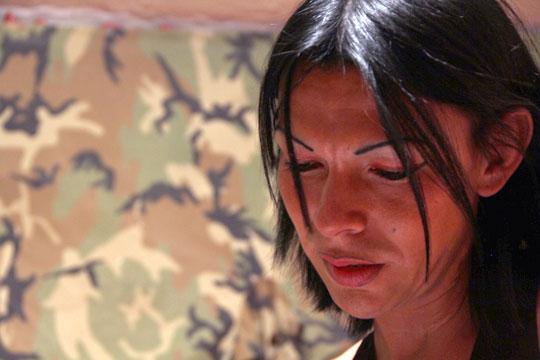 historia de la mujer despedazada: