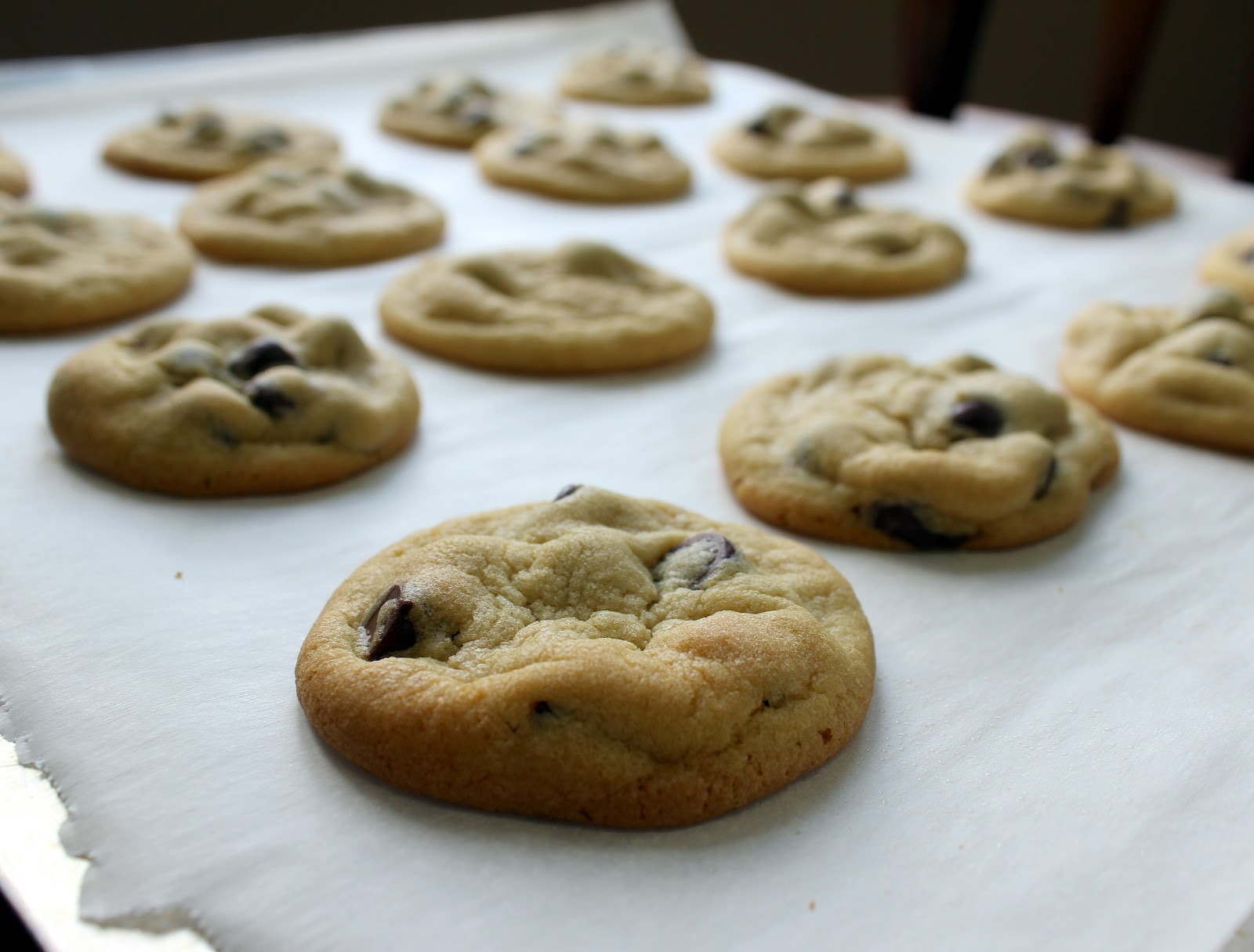 Soft Chocolate Chip Cookies - Julie's Eats & Treats