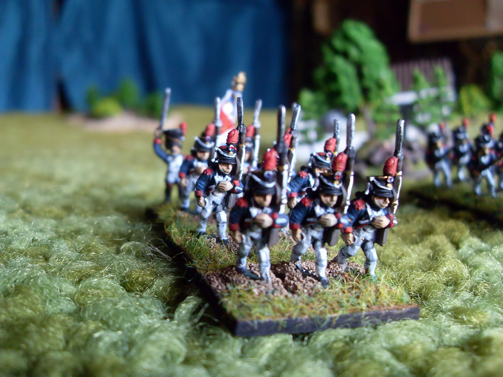 Essex Miniatures 15mm Napoleonic French Guard Infantry Command Old Middle Young Miniatures, War Games Toys & Hobbies