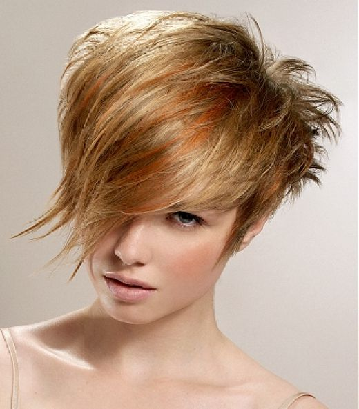 funky medium hairstyles - blondelacquer