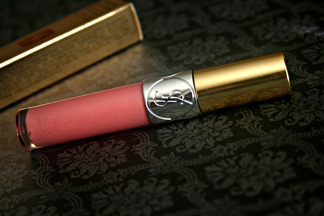 YSL Gloss Volupte Lip Gloss in 19 Rose Orfevre Review, Photos & Swatches YSL Spring 2014