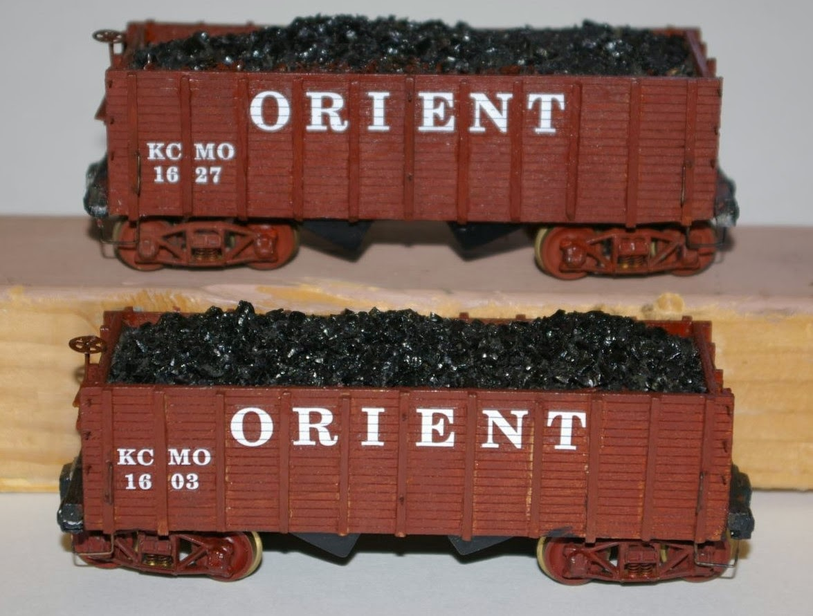 American OO Today: Recent Projects: Five Wood Hopper Cars
