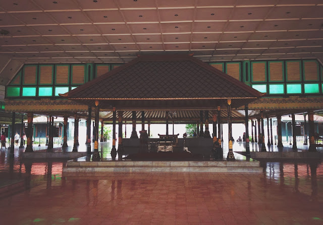 Yogkarta Kraton Hall