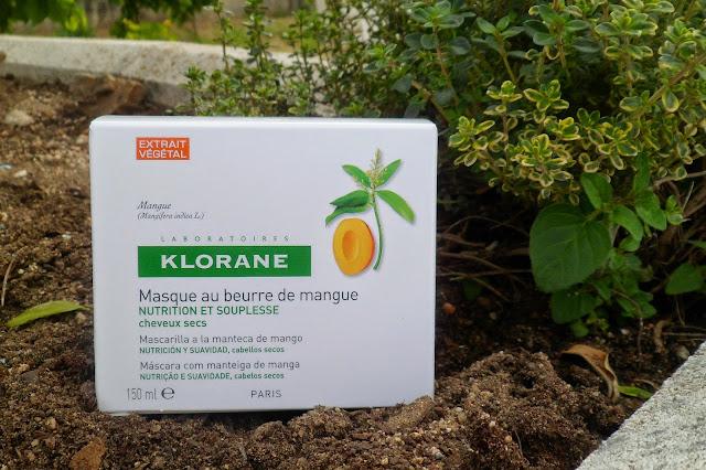 Mascarilla Capilar a la Manteca de Mango de Klorane: Nutrición y Suavidad