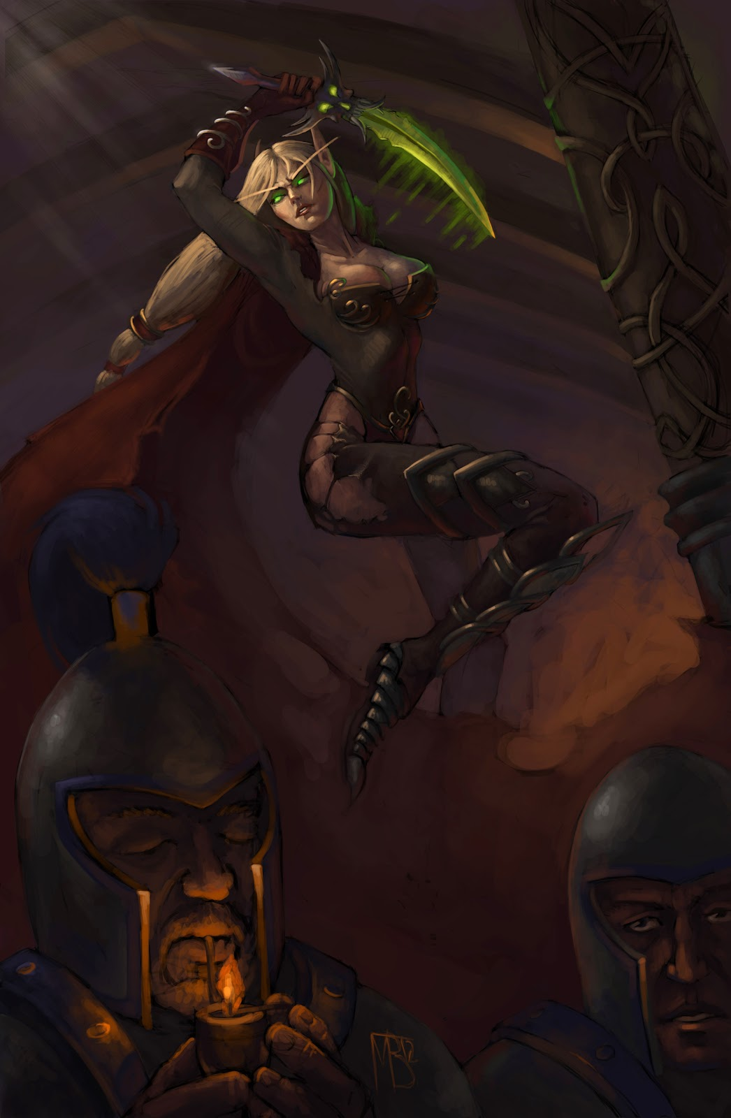 Blood elf female art hentai images