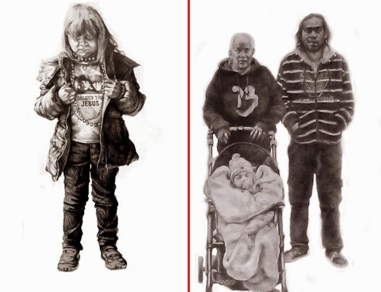 2 dibujos de Steve Gibson