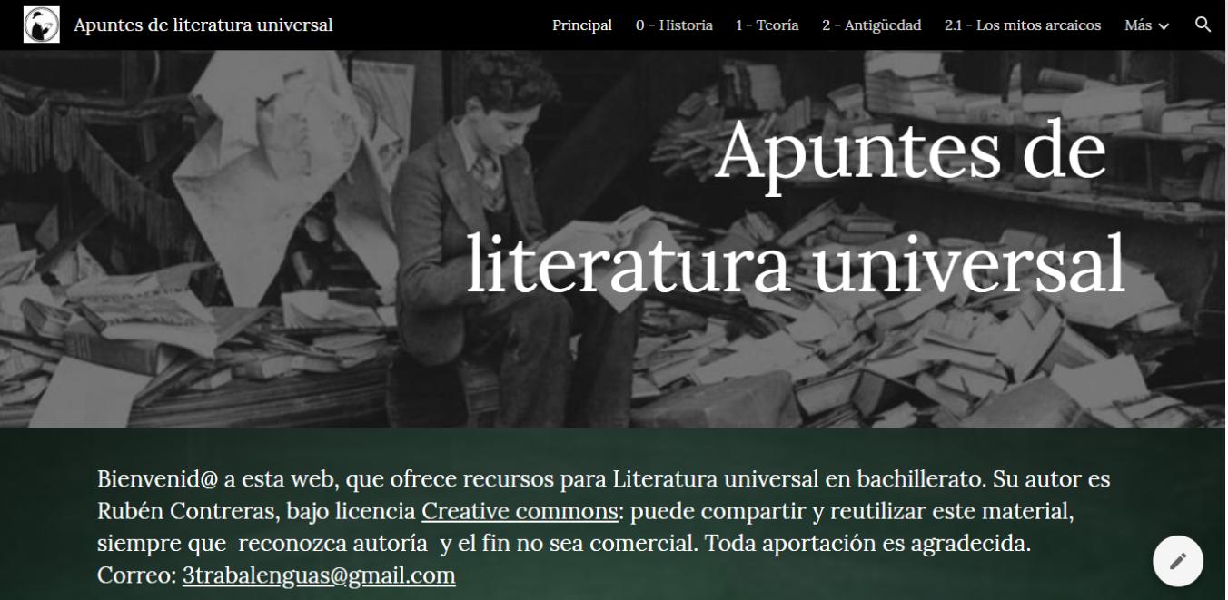 apuntes para literatura universal