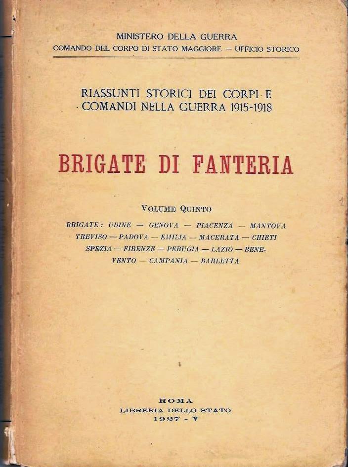 """Diari Storici delle Brigate di Fanteria. Brigata """"Macerata"""""""