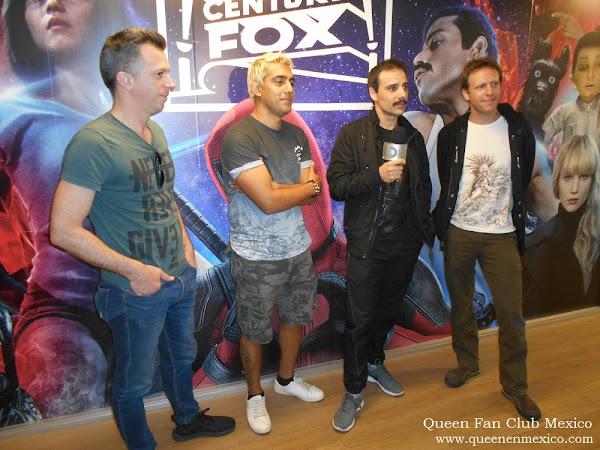 "DIOS SALVE A LA REINA PRESENTE EN AVANCE DE ""BOHEMIAN RHAPSODY"" EN FOX MEXICO"