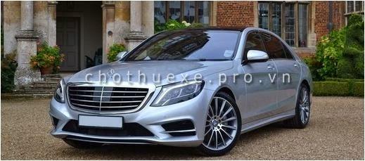 Cho thuê xe cưới VIP Mercedes S500 L 2014 đẳng cấp siêu VIP 1