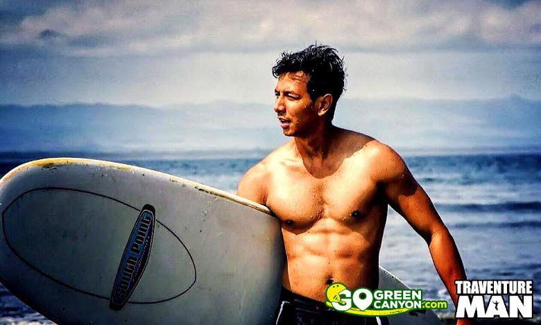 belajar surfing di batu karas