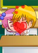 Поцелуи на первой парте - Онлайн игра для девочек