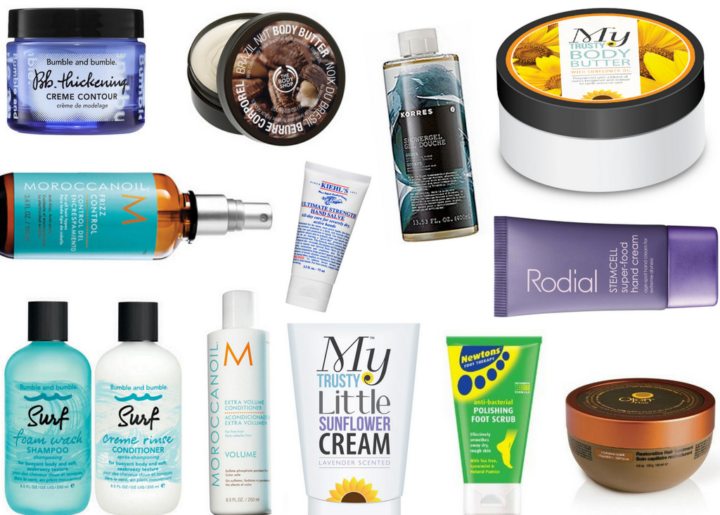 2014 Favourites: Bath, Body + Haircare
