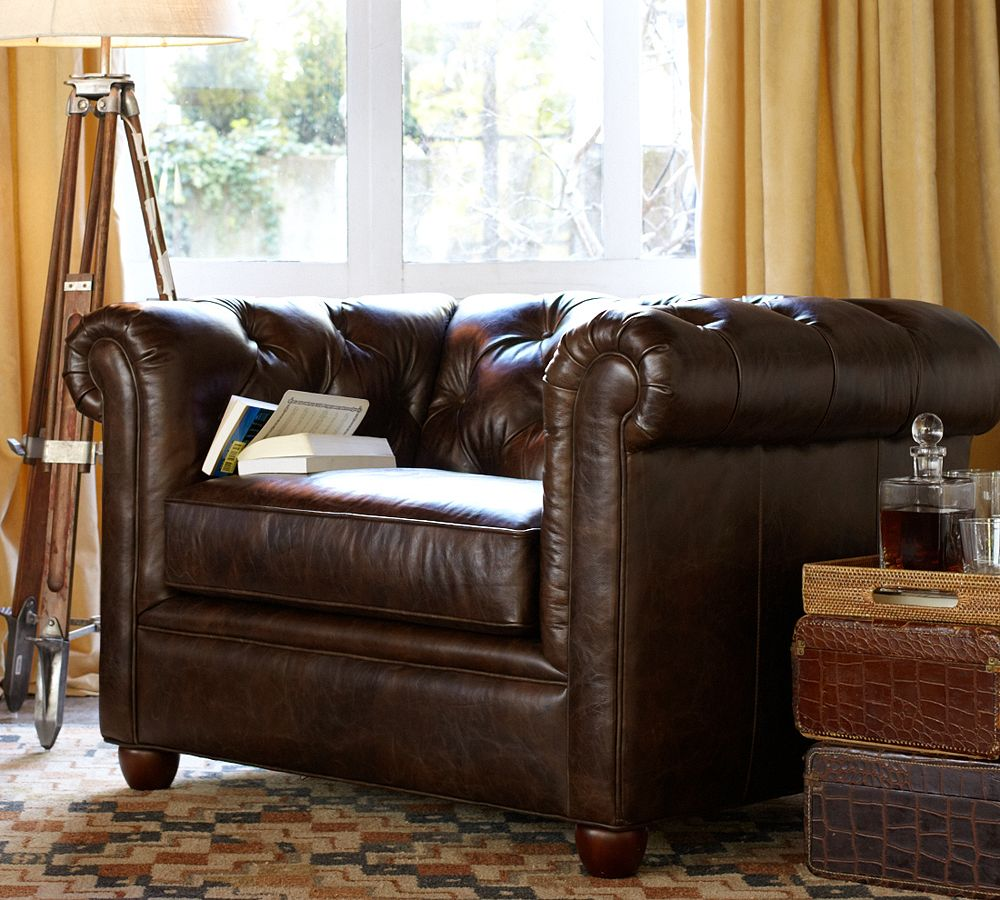Chesterfield Chair By Pottery Barn