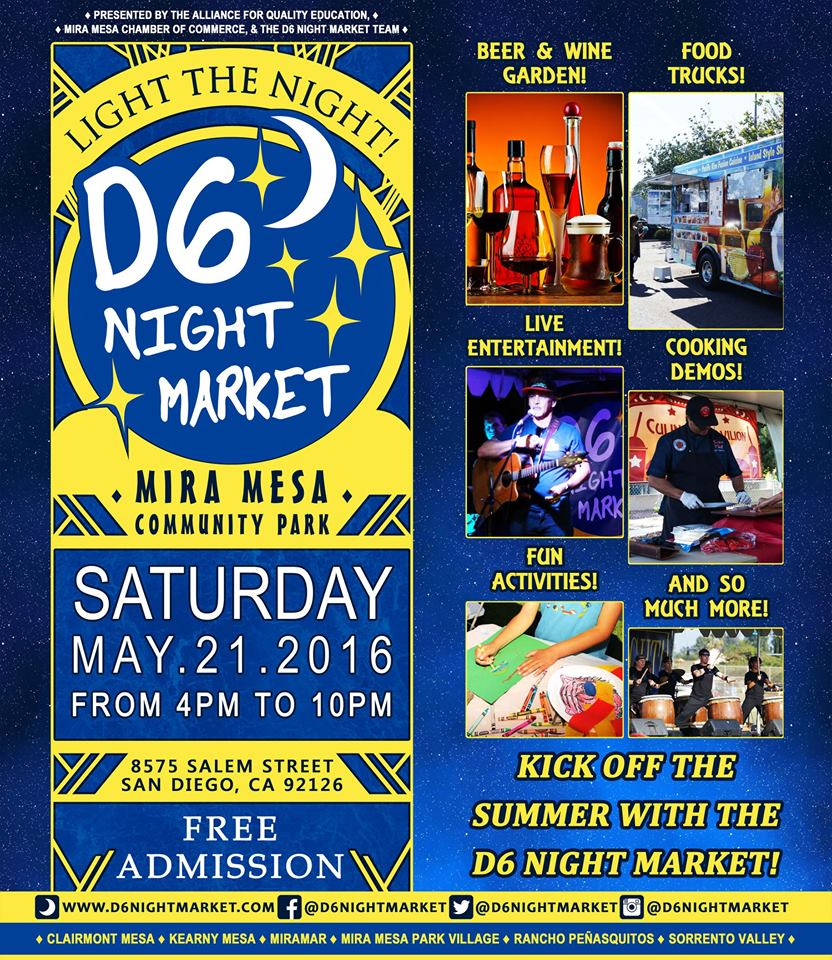 D6 Night Market Returns On May 21