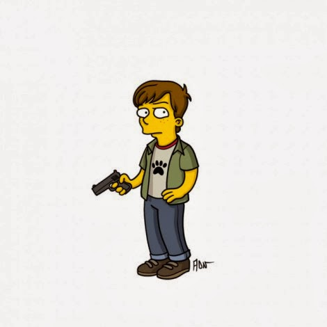 The Walking Dead a Springfield - Carl