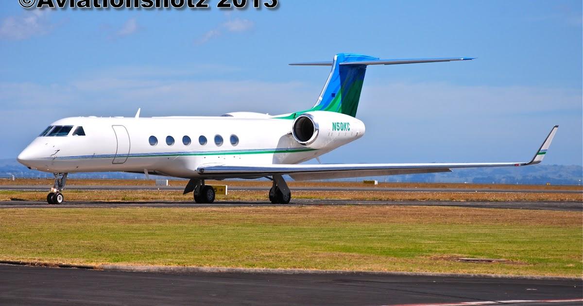 Aviationshotz Gulfstream GV N50KC