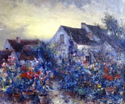 Мишель Корошанский, Цветущий сад, 1900-е