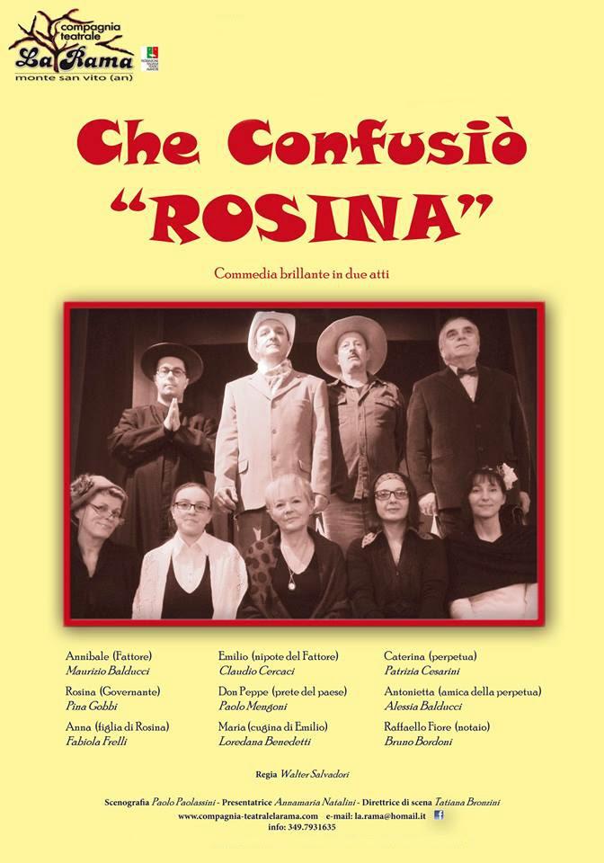 CHE CONFUSIO' ROSINA