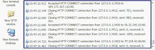 Bitvise SSH Client + VHTTPTunnels
