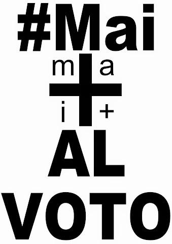 #Mai+ VOTO 1