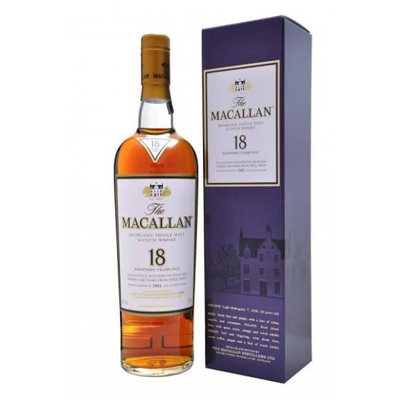 麥卡倫18年雪莉桶 Macallan (單一純麥威士忌)