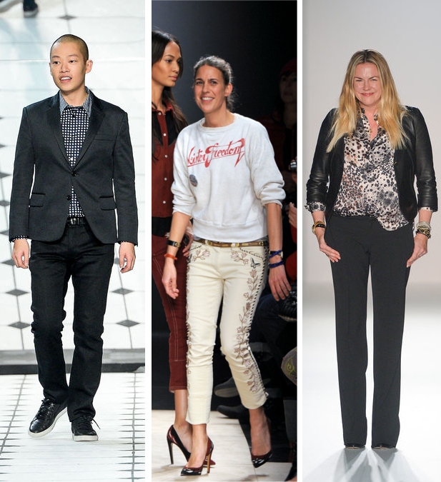 Jason Wu, Isabal Marant, Emma Hill
