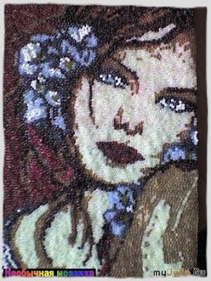 техника бисерная мозаика схема.