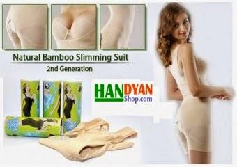 Cara Membentuk Tubuh Ideal Dengan Natural Bamboo Slimming Suit