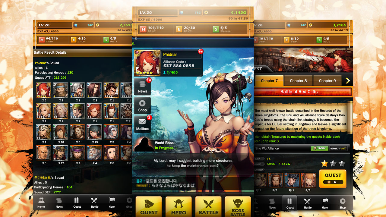 Dynasty Warlord (Sihirli Kartlar) Android Apk Oyunu resimi 3