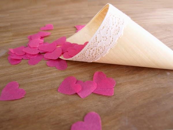 Diy bodas: conos para el arroz