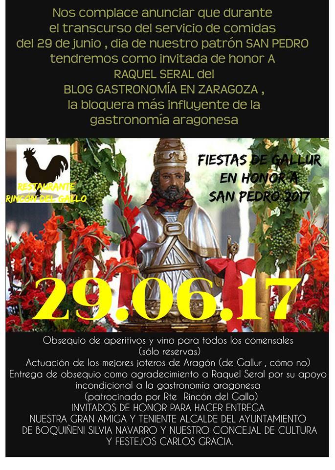 Fiestas en Gallur en Honor a San Pedro