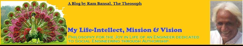Life-Intellect of Ram Bansal, The Theosoph