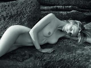Edita Vilkeviciute nude in 2012 Pirelli Calendar