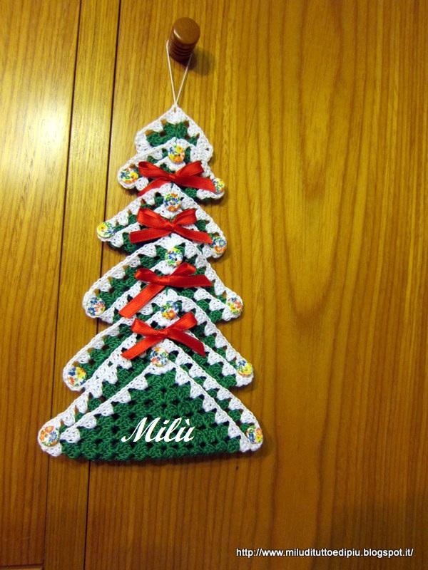 Extrêmement Milù, di tutto e di più!: Natale all'uncinetto GS54