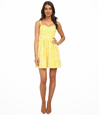 lilly pulitzer christine dress sunglow yellow on sale 20 percent off