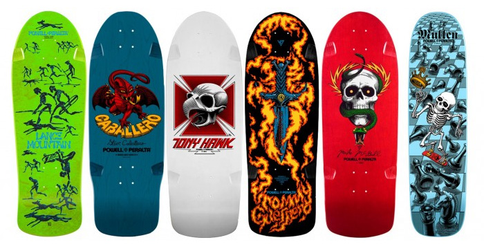 Powell Peralta reissue skate decks