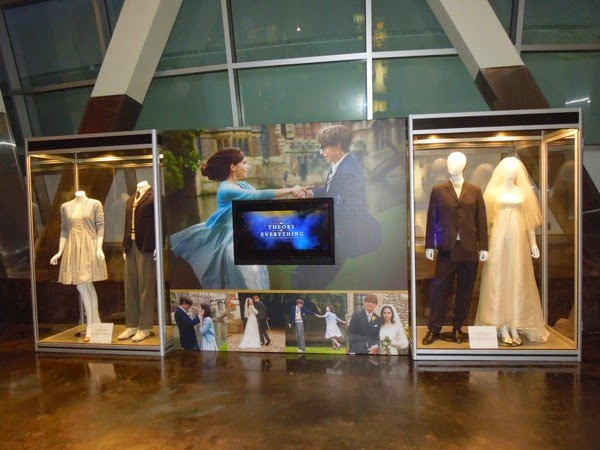 Theory of Everything movie costume exhibit