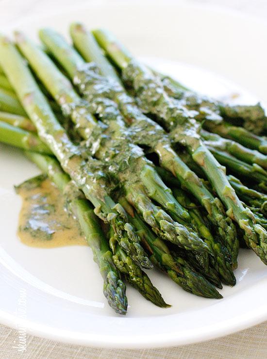 Asparagus With Dijon Vinaigrette Recipes — Dishmaps