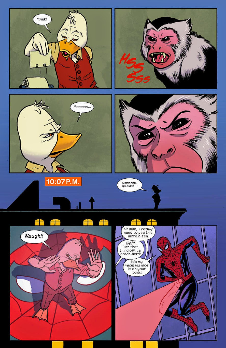 Spider-Man teams up with Howard the Duck