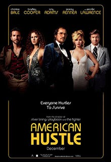 American HJustle Movie Poster 2013