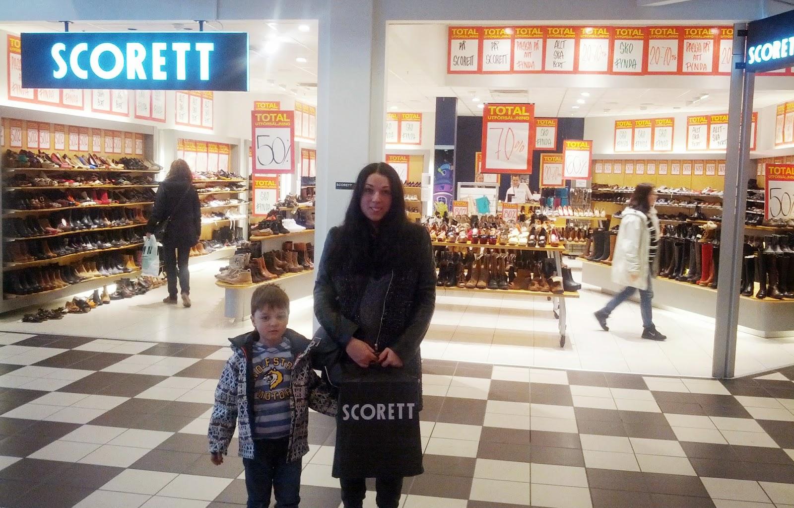 шоппинг в Швеции