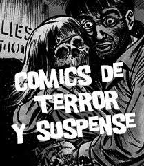 CÓMICS DE TERROR Y SUSPENSE