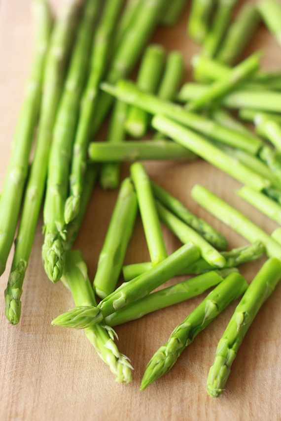 spring fresh asparagus