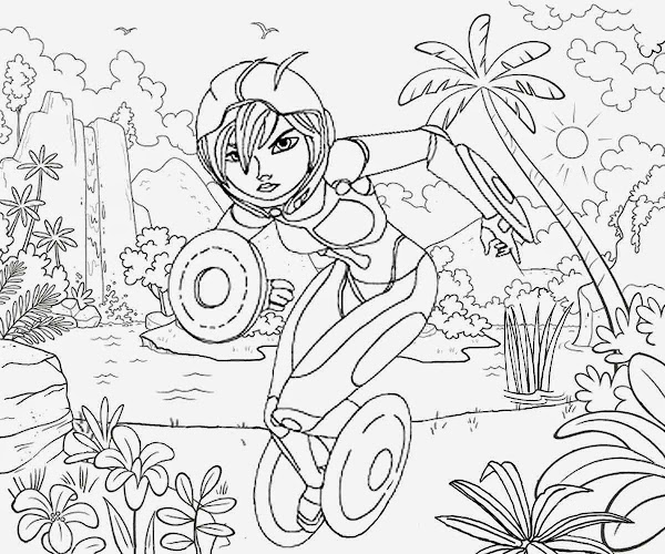 Big Hero 6 Free Colouring Pages Disney Colorings